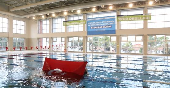 Karamürsel Yüzme Havuzunda Geleceğin Şampiyonları Yetişecek