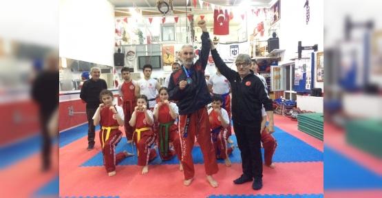 74 kg. Çetin KORKMAZ Uluslararası Avrupa Kupası 3.sü Oldu