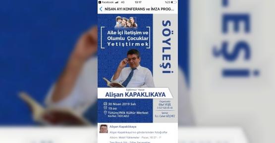 AİLELER, BU KONFERANS  KAÇMAZ