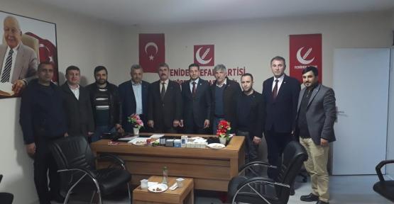Yeniden Refah Partisi'ni  Ziyaret ettiler