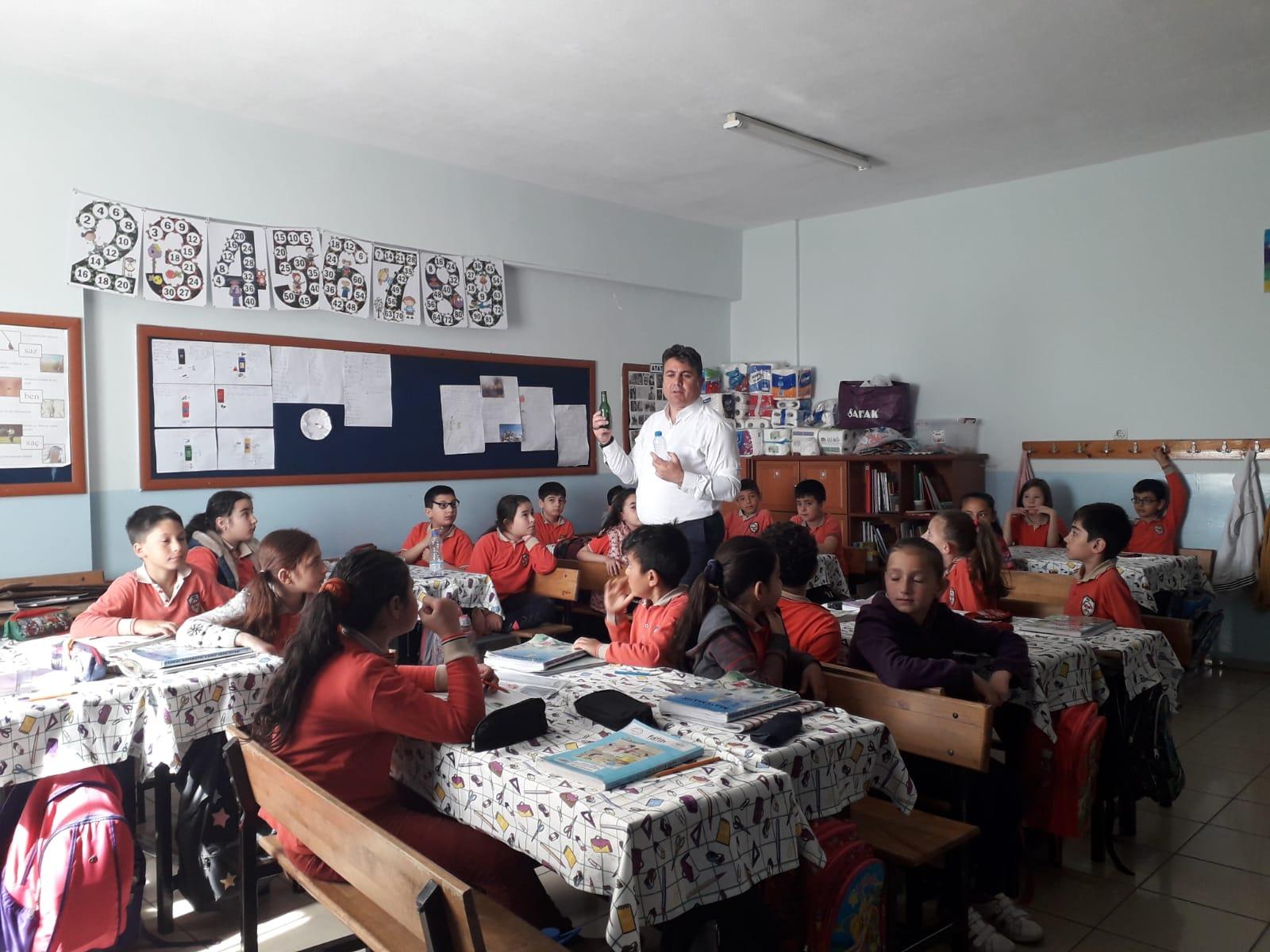 BİN 200 ÖĞRENCİYE 'SIFIR ATIK' ANLATILDI