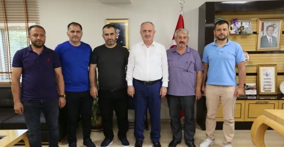 Başkan Aygün'den Belediye Derincespor'a Tam Destek