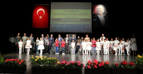 En Çevreci Okullar Ödüllerine Kavuştu