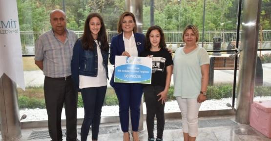 İzmit'te Çevreci Okullar Ödüllendirildi