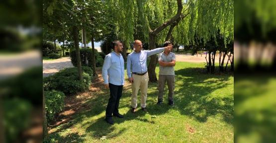 Kirazlıyalı Çay Bahçesi  Faaliyete Geçiyor