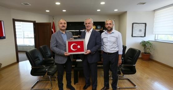 Başkan Aygün'den Çöpoğlu ve Sert'e Ziyaret