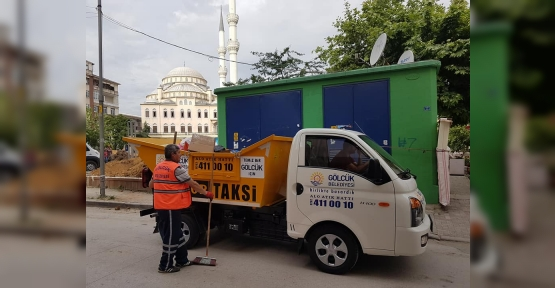Çöp Taksiler 1 Yıldır Gölcük'te Hizmette