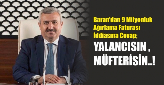 İsmail Baran'dan Lütfü Türkkan'a Cevap