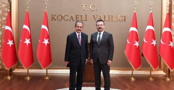 Kocaeli İl Müftüsü Sinan Cihan'dan Vali Aksoy'u Ziyaret Etti