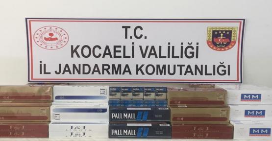 KÖRFEZ'DE KAÇAK SİGARA OPERASYONU..!