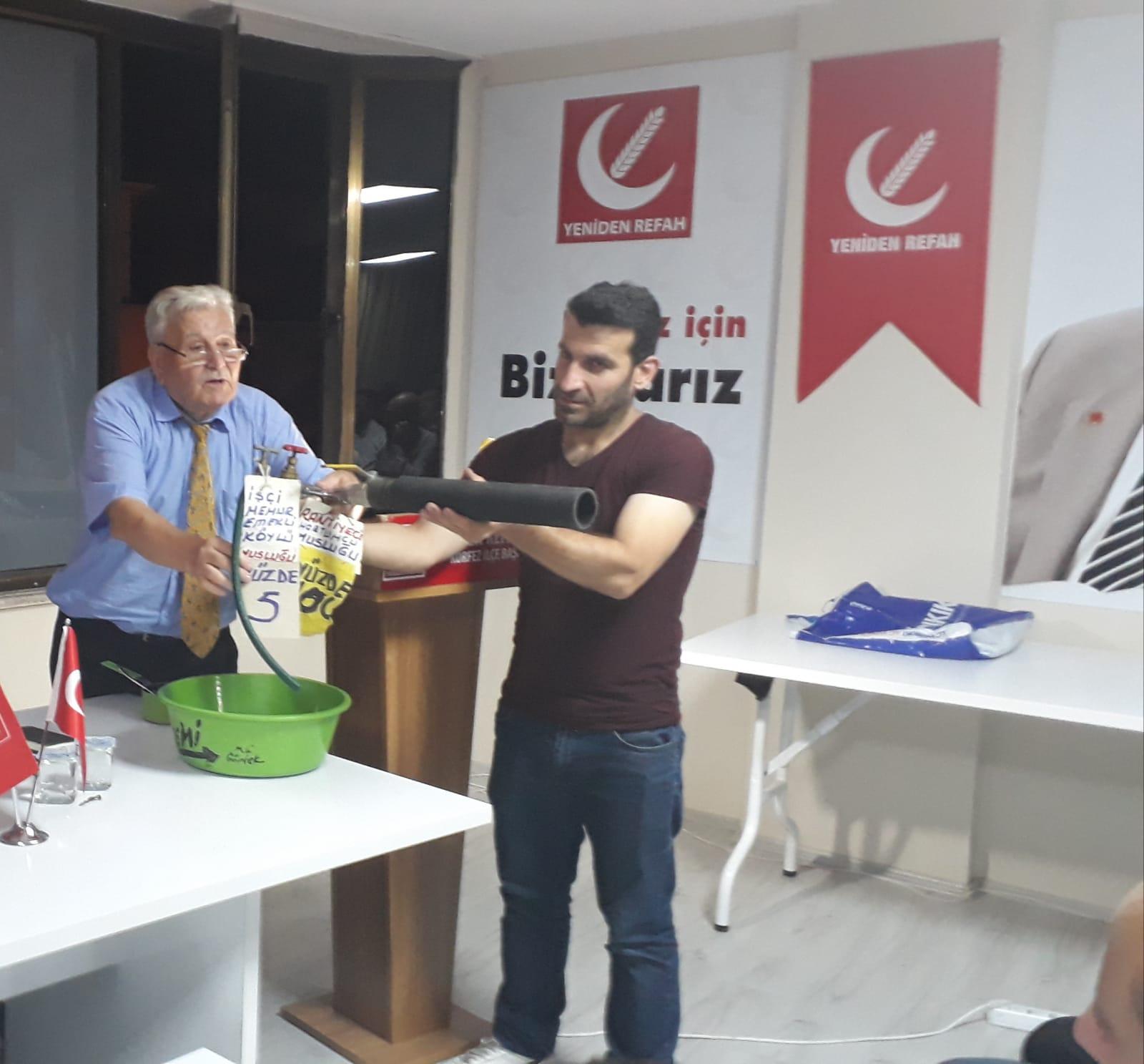 Mehmet Aras Körfez İlçe Teşkilatı'ında Gündemi Değerlendirdi