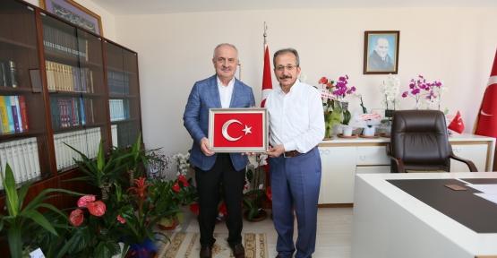 Başkan Aygün'den Müftü Cihan'a Ziyaret