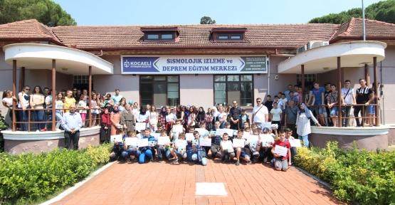 Bulgaristanlı Türk Öğrencilere, Kocaeli'de Deprem Eğitimi