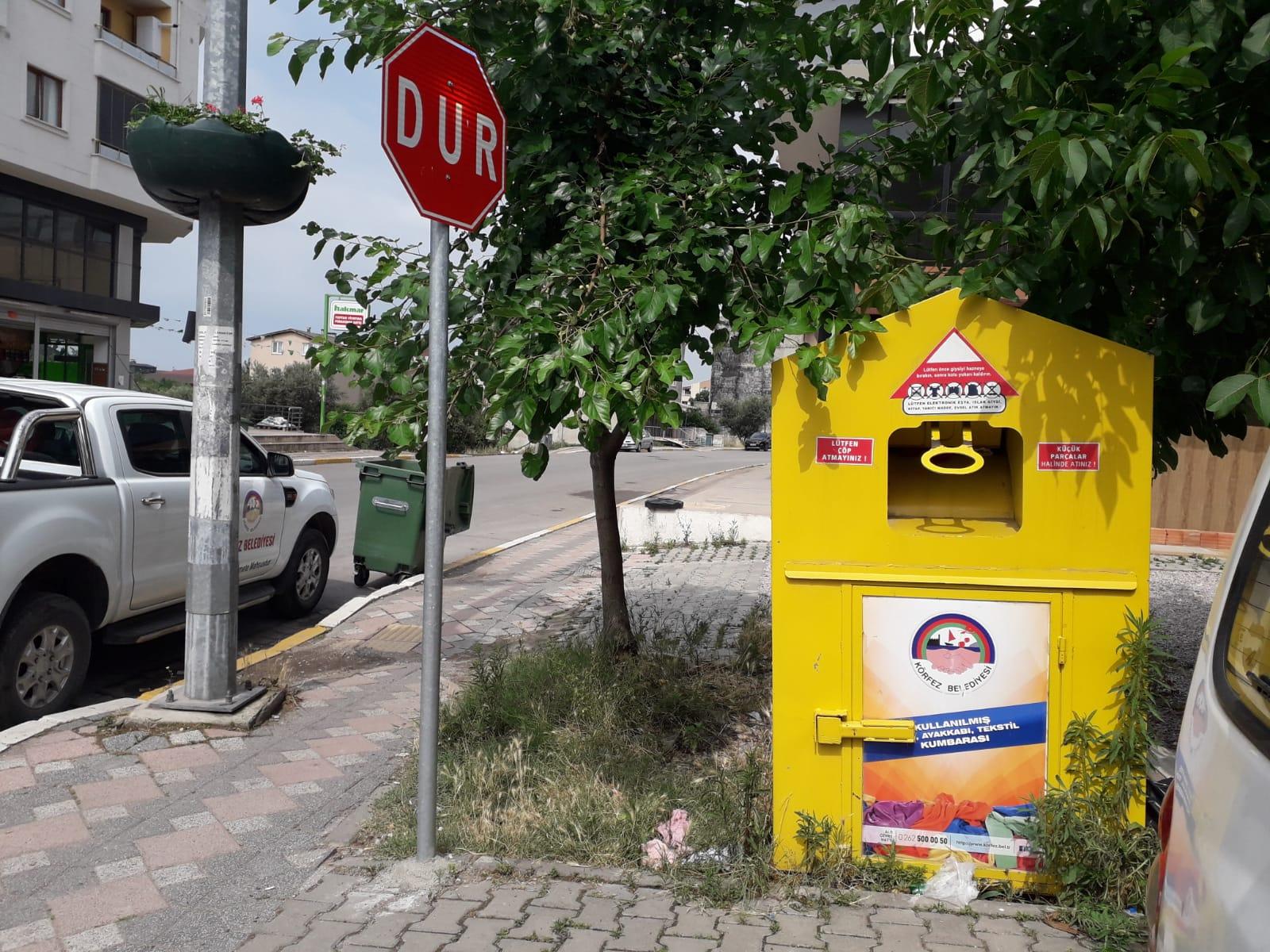 Sarı Kutularda 38 Ton Tekstil Atığı