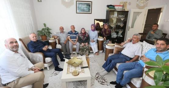 Başkan Aygün'den Hacı Ziyaretleri