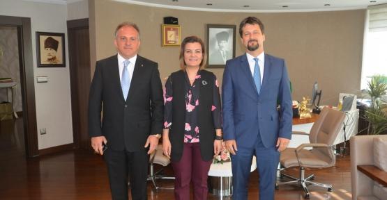 Macaristan Büyükelçisinden Başkan Hürriyet'e Ziyaret