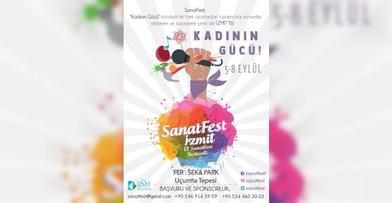 Sanatfest İzmit'e