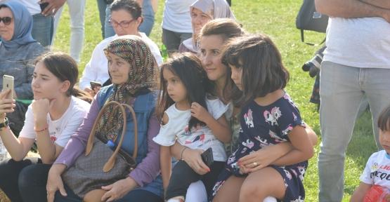 Sanatfest'te Çocuklar Doyasıya Eğlendi