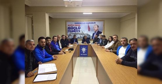 Başkan Turan Yönetim Kurulu Toplantısına Katıldı