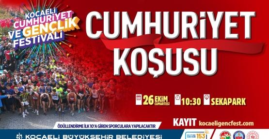 """""""Cumhuriyet Koşusu"""" İçin Başvurular Başladı"""