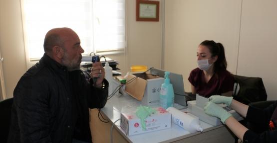 Körfez Belediye Personeline Sağlık Taraması