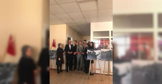 Gülünce Eğitim Kurumu'nda Atatürk Sergisi Açıldı