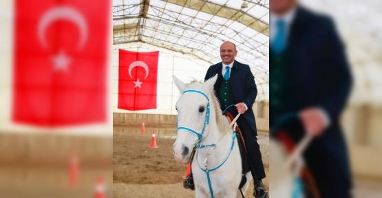 Başkan Söğüt'ten  Atlı Yaşam Tesisi'ne Ziyaret