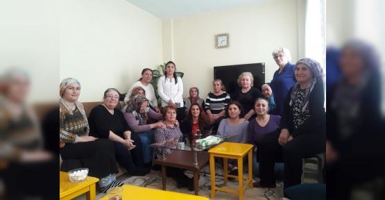 CHP Kadın Kolları  Çamlıtepe'de Çalıştı