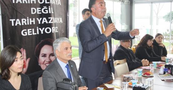 İYİ Parti'den Körfez'de Gövde Gösterisi