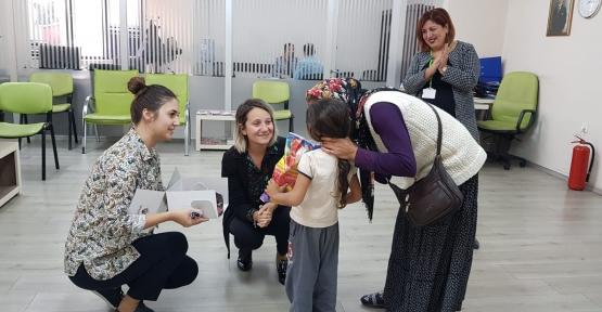 İzmit Belediyes'inden Minik Emine Nur'a 5 Yaş Süprizi