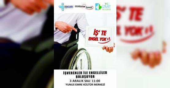 İzmit Belediyesi Engelliler Gününde Engellilere Umut Olacak