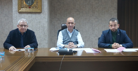 İzmit Belediyesinde Haftalık Encümen Toplantısı Gerçekleştirildi