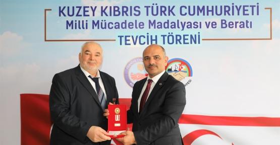 KÖRFEZ'DE KIBRIS GAZİLERİNE BERATLARI VERİLDİ