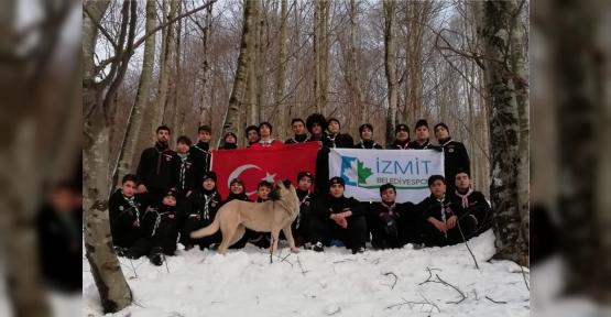 İzmit Belediyesporlu İzciler Kış Kampına Hazırlandı