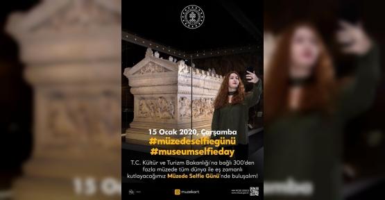 Kültür ve Turizm Bakanlığından  Müzede Selfie Günü'ne Özel Yarışma...