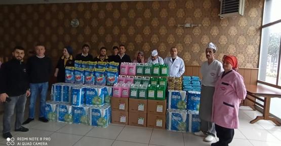 Personelden Deprem Bölgesine  Yardım