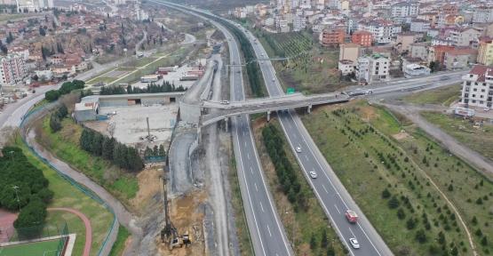Tuzla Şifa – Çayırova Bağlantı  Köprüsünde İmalatlara Devam