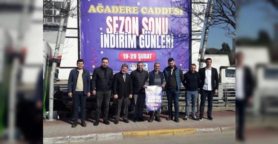 AĞADERE'DE İNDİRİM GÜNLERİ BAŞLIYOR