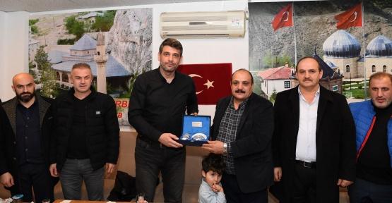 Başkan Kocaman'dan Malatyalılara Geçmiş Olsun Ziyareti