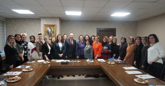 İzmit Belediyesinden Kadın Kooperatiflerini güçlendirilmesi toplantısı