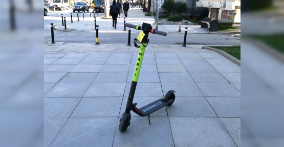 İzmit'te Elektrikli Scooter Dönemi Başlıyor
