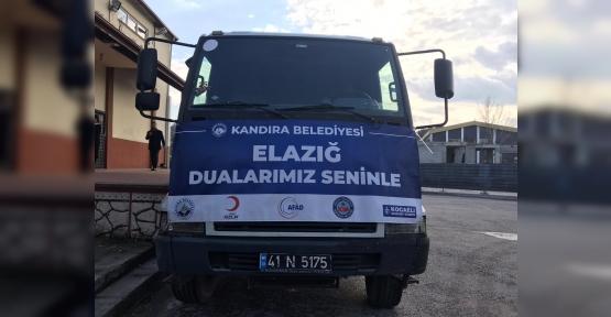 Kandıra'dan Elazığ Depremi İçin Yardım Tırı Yola Çıktı