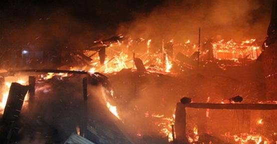 Yangın Resmi Çekmeye Giden Gazeteciye Saldırdılar