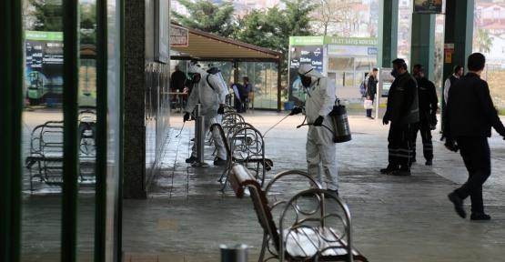 KOCAELİ'DE TOPLU TAŞIMA ARAÇLARINDA VİRÜS VE MİKROPLARA İZİN YOK