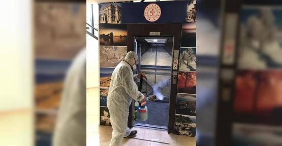 Sabancı Kültür Merkezi'nde Korona Önlemi