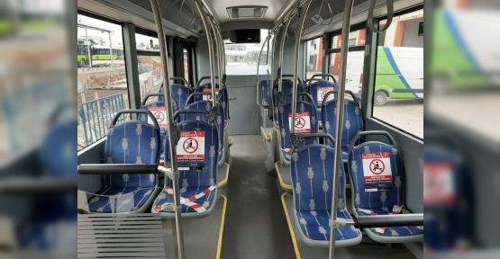 UlaşımPark, Otobüslerinde Yoğunluğa İzin Vermiyor