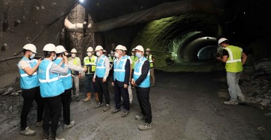 Başkan Büyükakın, Tünellerdeki Çalışmaları İnceledi
