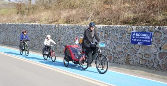 16 Yılda 72 km'lik Bisiklet Yolu İnşa Edildi