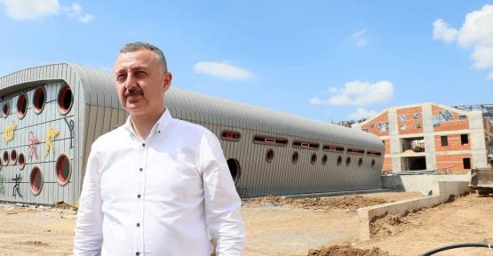 """Başkan Büyükakın, """"Gebze'de spora 50 milyonluk yatırım yapıyoruz"""""""