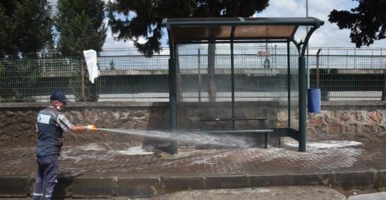 Cumhuriyet Mahallesi haşerelere  Karşı Güvende